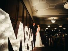 Свадебные объемные буквы