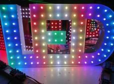 LED вывеска