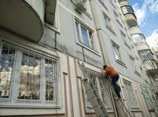 Монтаж объемных букв на здание