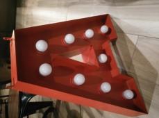 Объемные буквы с подсветкой фото