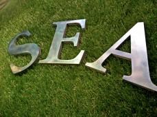 надпись океан\море
