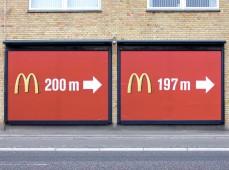 Наружная реклама Макдональдс