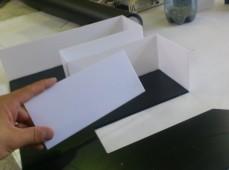 Процесс изготовления букв