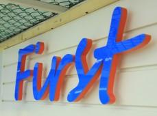 Буквы из ПВХ First