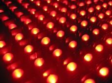 LED лампы в бегущей строке